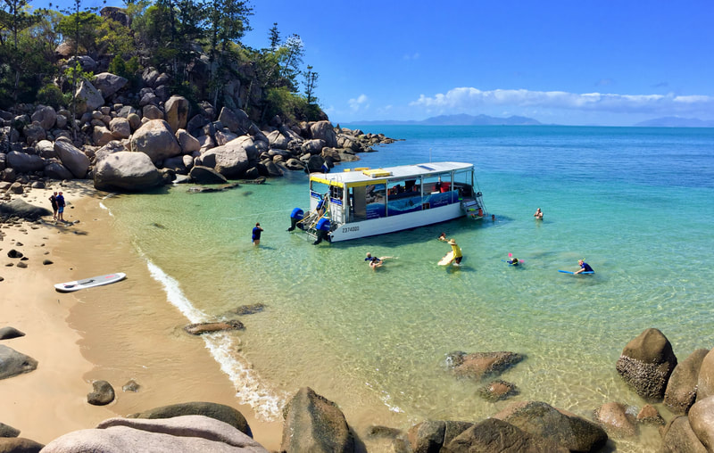 Aquascene Magnetic Island on a Private Charter in a beautiful beach location on Magnetic Island