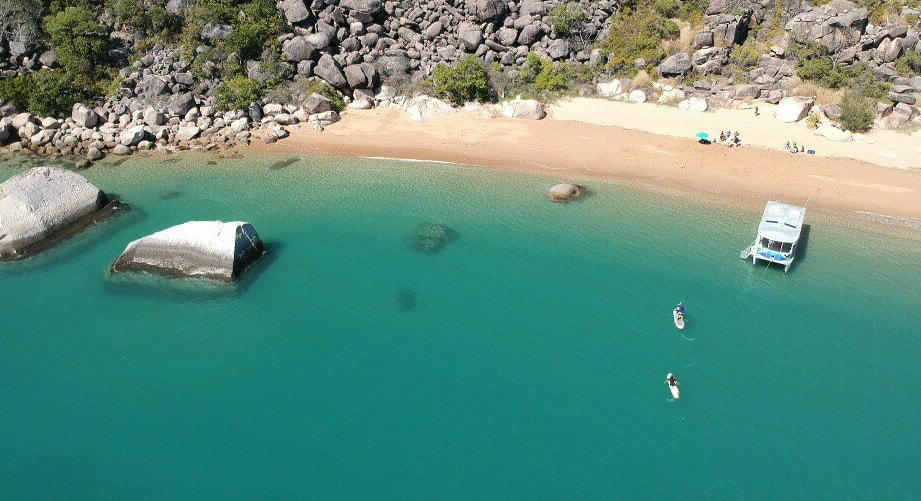 Aquascene Magnetic Island offer beautiful private charters on Magnetic Island